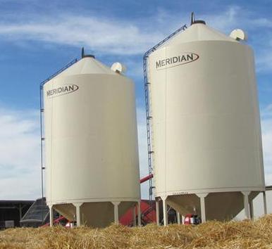 grain storage, seed storage, meridian grain bin, hopper