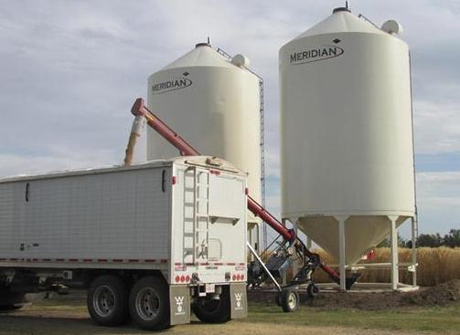 meridian grain bins, silos
