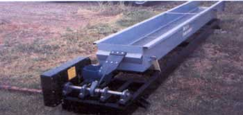 vibratory, grain, seed, conveyor, cleaner